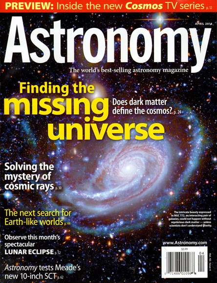 Astronomy Cover - 4/1/2014