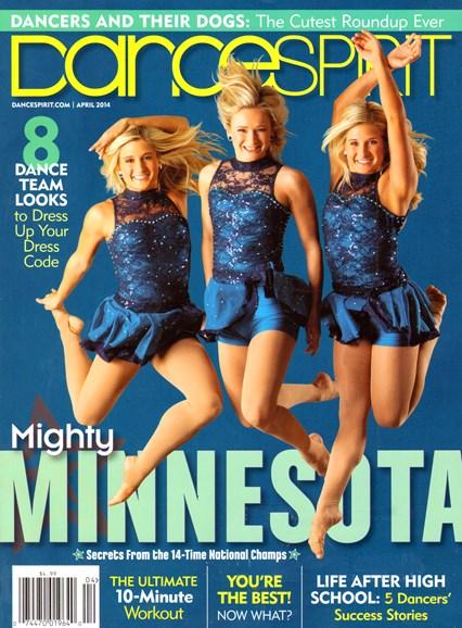 Dance Spirit Cover - 4/1/2014