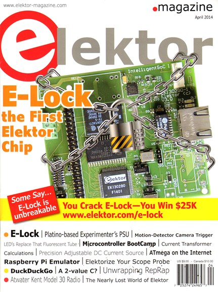 Elektor - North American Edition Cover - 4/7/2014