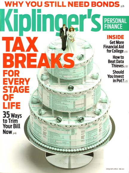 Kiplinger's Personal Finance Cover - 4/1/2014