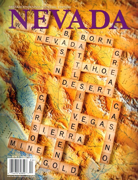 Nevada Magazine Cover - 3/1/2014