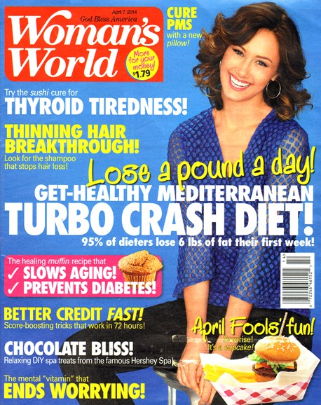 Woman's World Cover - 4/7/2014