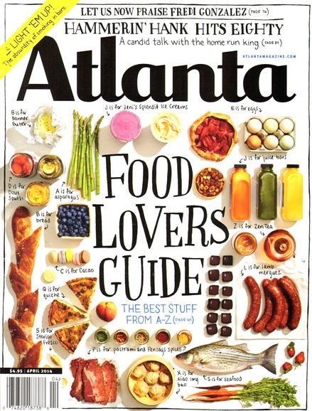 Atlanta Magazine Cover - 4/1/2014