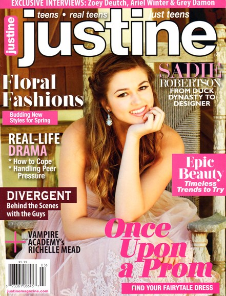 Justine Cover - 2/1/2014