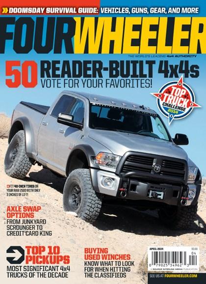 Four Wheeler Cover - 4/1/2014