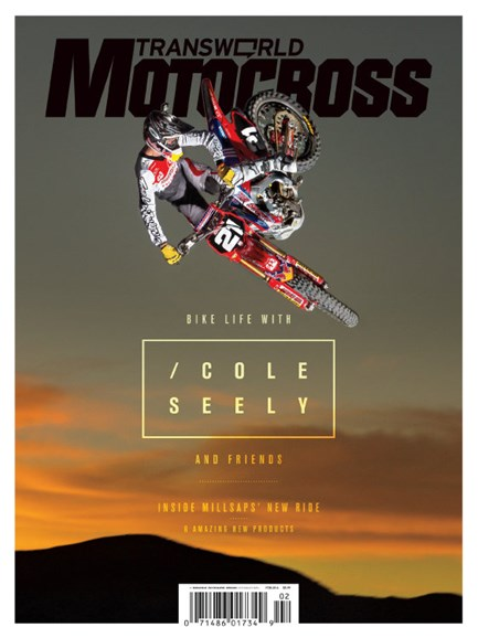 Transworld Motocross Cover - 2/1/2014