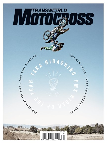 Transworld Motocross Cover - 1/1/2014
