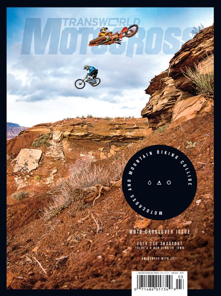 Transworld Motocross Cover - 3/1/2014