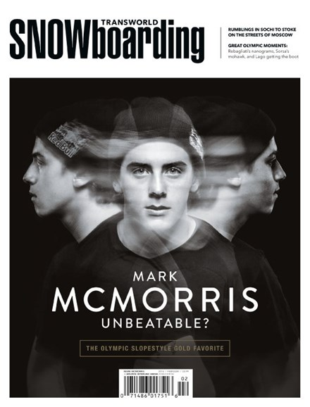 Transworld SNOWboarding Cover - 2/1/2014