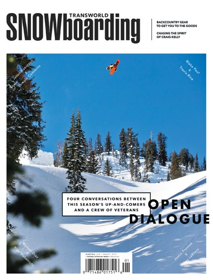Transworld SNOWboarding Cover - 1/1/2014