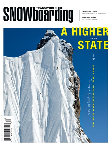 Transworld SNOWboarding Cover - 3/1/2014
