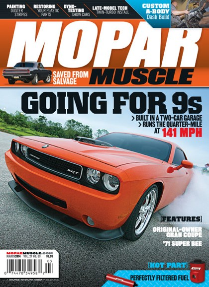 Mopar Muscle Cover - 3/1/2014