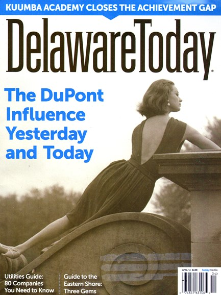 Delaware Today Cover - 4/1/2014
