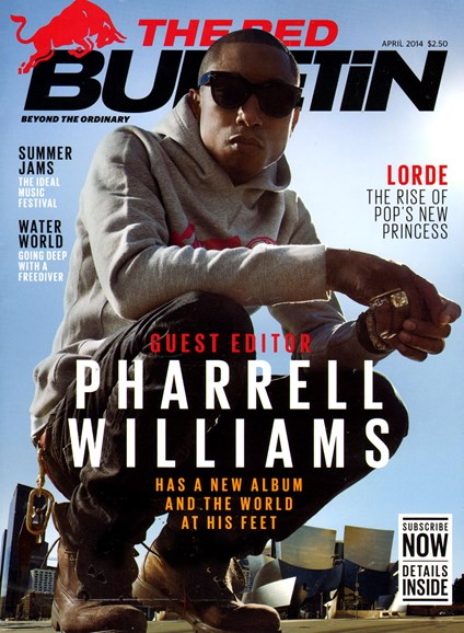 The Red Bulletin Cover - 4/1/2014