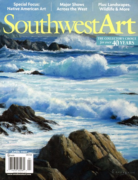 Southwest Art Cover - 4/1/2014