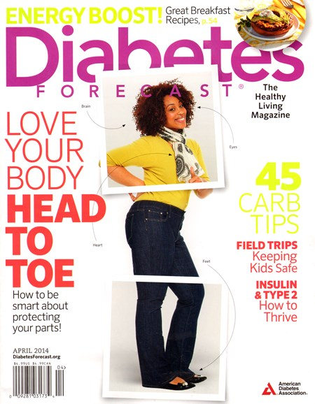 Diabetes Forecast Cover - 4/1/2014