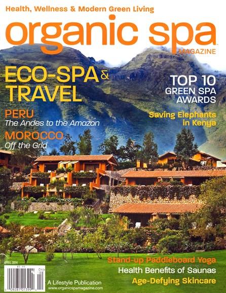 Organic Spa Cover - 4/1/2014