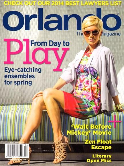 Orlando Magazine Cover - 4/1/2014