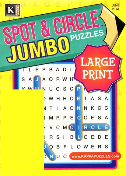 Spot & Circle Jumbo Cover - 6/1/2014