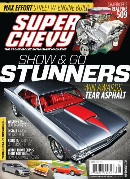 Super Chevy Cover - 4/1/2014