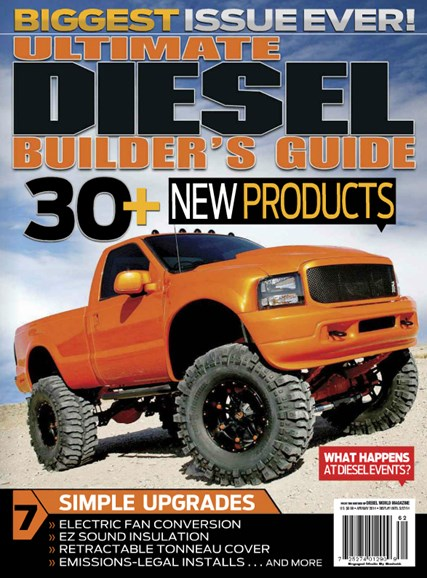 Ultimate Diesel Builder's Guide Cover - 4/1/2014