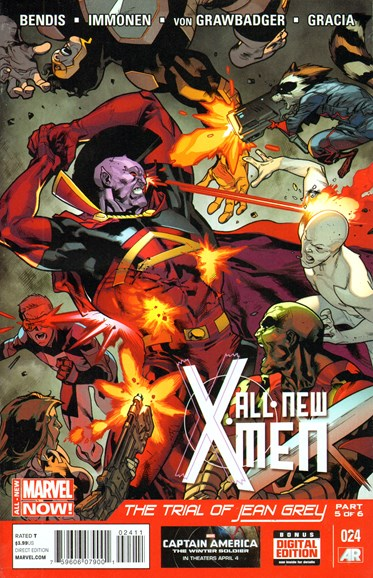 X-Men Blue Cover - 5/15/2014