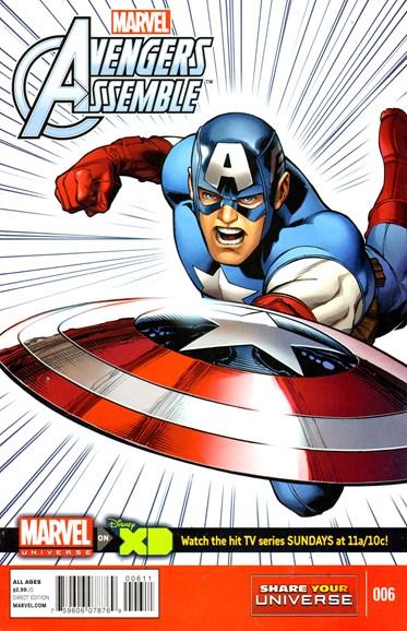 Marvel Universe Avengers Assemble Cover - 5/1/2014
