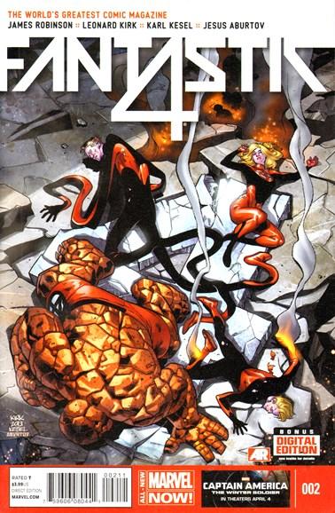Fantastic Four Cover - 5/1/2014