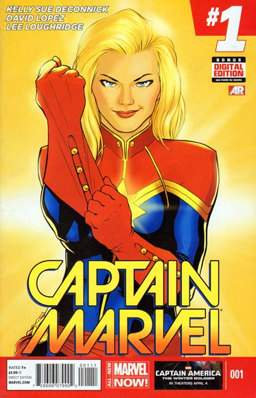 Captain Marvel Cover - 5/1/2014