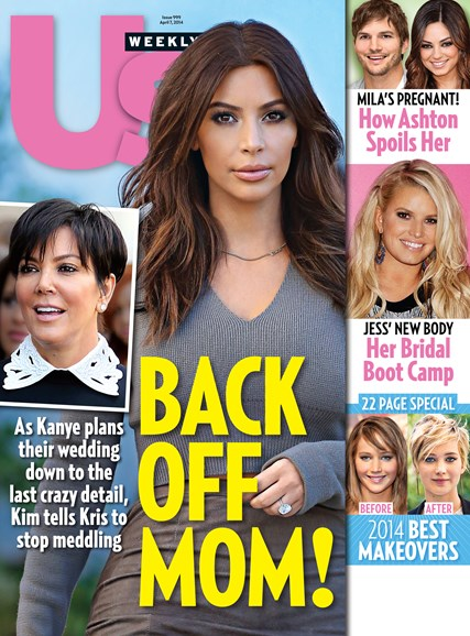 Us Weekly Cover - 4/7/2014