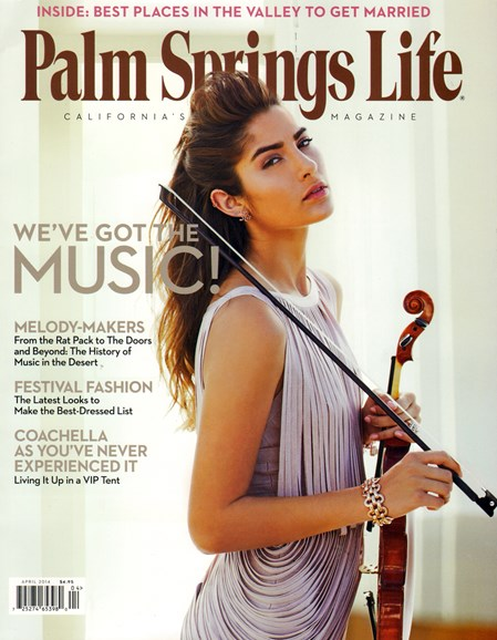 Palm Springs Life Cover - 4/1/2014