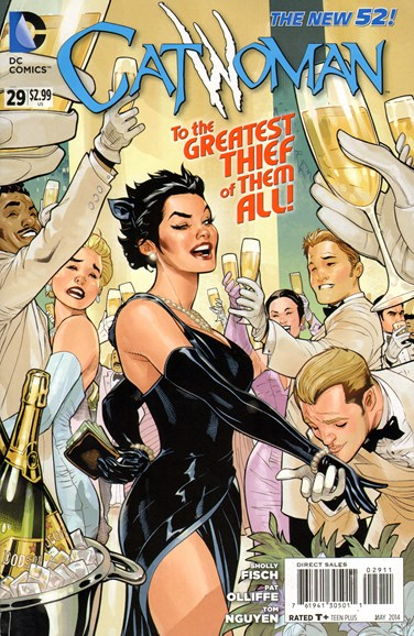 Catwoman Cover - 5/1/2014