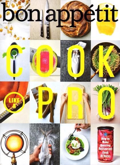 Bon Appétit Cover - 4/1/2014