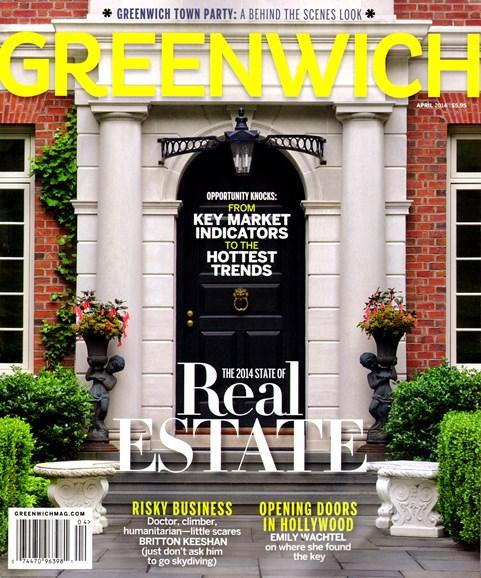Greenwich Cover - 4/1/2014