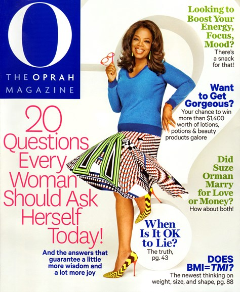 O The Oprah Cover - 4/1/2014