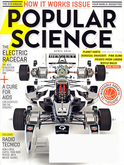 Popular Science Cover - 4/1/2014