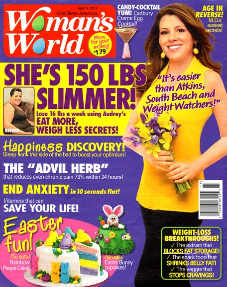 Woman's World Cover - 4/14/2014