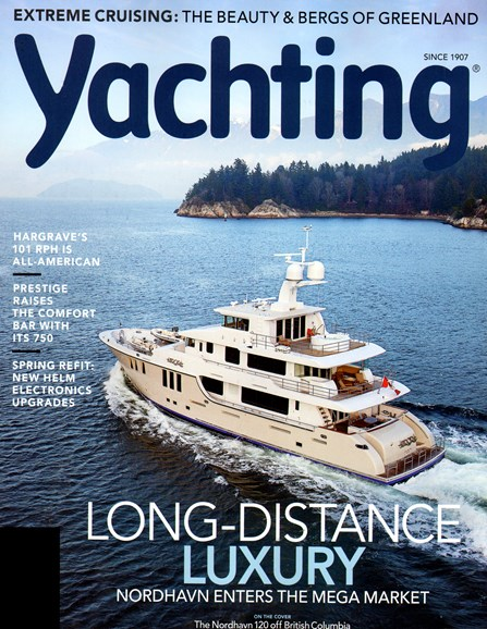 Yachting Cover - 4/1/2014