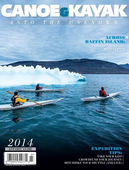 Canoe & Kayak Cover - 3/1/2014