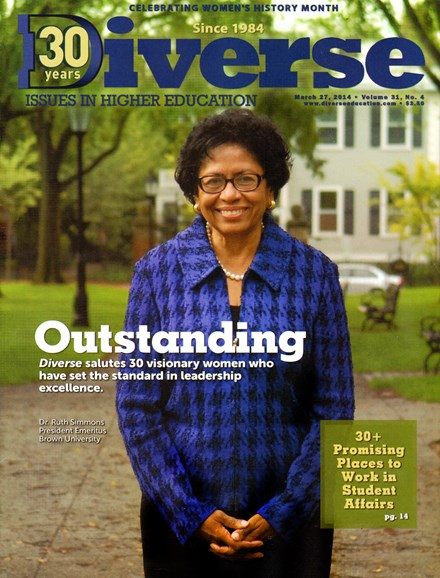 Diverse: Issues In Higher Education Cover - 4/27/2014