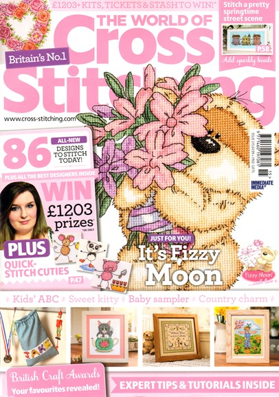 The World of Cross Stitching Cover - 5/1/2014