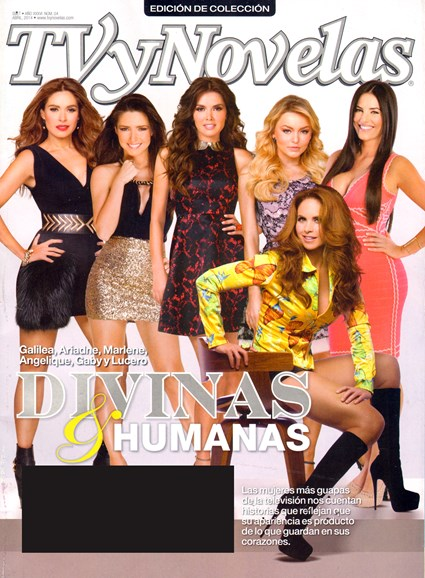 Tv Y Novelas Cover - 4/1/2014