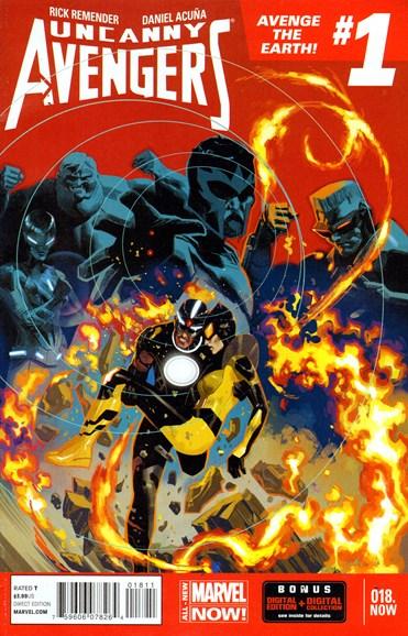 Uncanny Avengers Cover - 5/1/2014