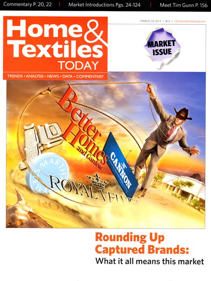 Home & Textiles Today Cover - 3/23/2014