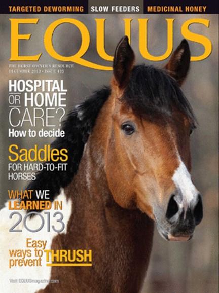 Equus Cover - 12/1/2013