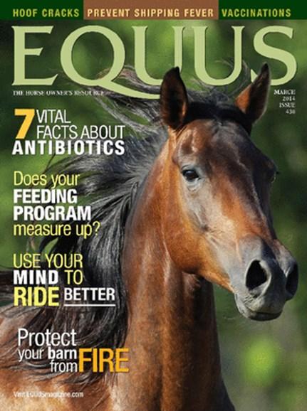 Equus Cover - 3/1/2014