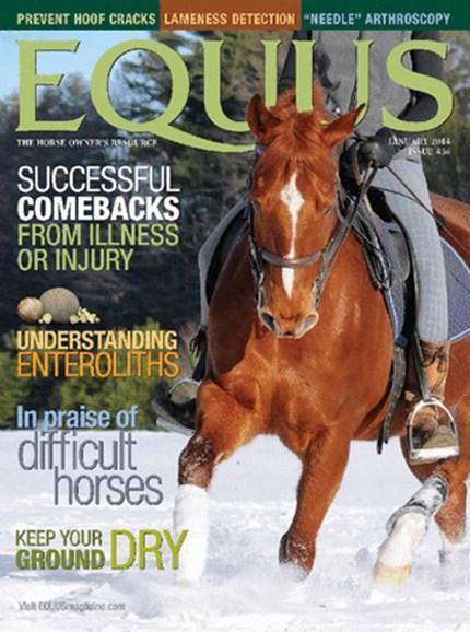 Equus Cover - 11/1/2013
