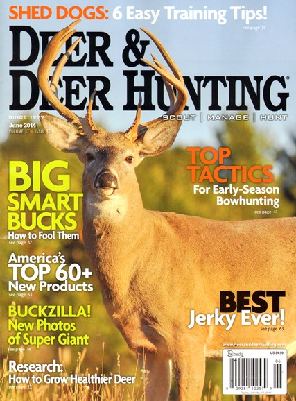 Deer & Deer Hunting Cover - 6/1/2014