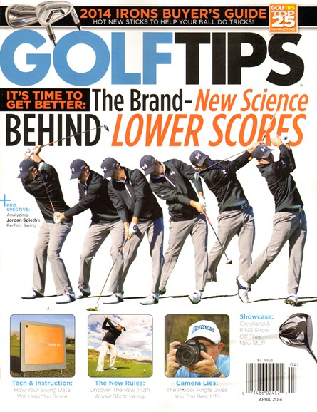 Golf Tips Cover - 4/1/2014