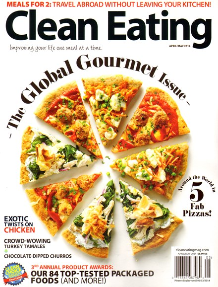 Clean Eating Cover - 4/1/2014